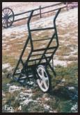 game cart single wheel